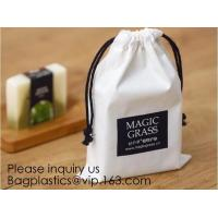 Buy cheap Cotton Muslin Bags Cotton Drawstring Pouch Gift Bags with Drawstring for Party Supplies Daily Use,Multi-purpose Cotton C product