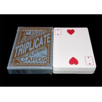 Buy cheap Texas Hold'em Customized Plastic Poker Playing Cards , Big Index Waterproof Playing Cards product