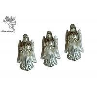 Quality Light Gold Casket Corners Angel Pattern European Style PP / ABS Material Angel for sale