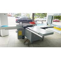 China Tiltable Blade Plywood Saw Cutting Machine , Industrial Panel Saw Machine 9000r / Min wholesale