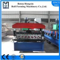 Buy cheap Elelctrical Motor Roof Roll Forming Machine High Efficient Hydarulic Pump product