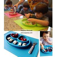 Buy cheap Wholesale Children silicone plate, custom color 4 different shape can be choosed product