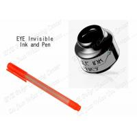Buy cheap IR Infrared Invisible Ink For Playing Cards With Marker Pen , Magic Pen Invisible Ink product