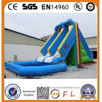 Buy cheap 2015 Hot Sale summer newest high quality large combo waterslide from wholesalers