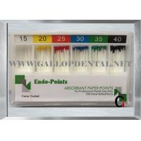 Buy cheap Dental Material of Absorbent Paper Points//Dental Gutta Percha Point product