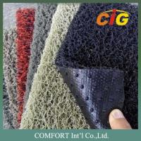 China 120cm width 15mm thickness PVC Floor Covering / 100% PVC carpet with nail backing wholesale