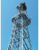 Buy cheap High Strength Steel Building Structures For Communication Tower, Transfer Tower product