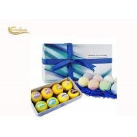 China Colorful Beautiful Epsom Salt Bath Bombs ,Bubble Bath Bombs With Shrinking Wrapped on sale