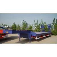 China Two Axle Low Bed Semi Trailer on sale