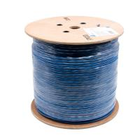 China High Speed Lan cable ftp cat 6 / Indoor cat6 shielded cable 0.58mm on sale