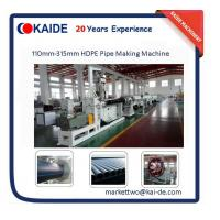 Buy cheap China Cheap HDPE Pipe Making Machine 110mm-315mm lower price product