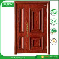 Buy cheap Cheap Price Commercial Waterproof Steel Security Door Popular Nigeria Metal Skin Doors product