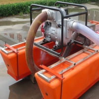 Buy cheap 17m3/h 15hp River Mini Gold Dredger For Stream Or River Alluvial Gold Washing product