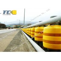 Buy cheap Anti Crash Rolling Safety Road Barrier For Highway / Roadway Star Production product