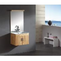 Buy cheap Simple Wood Bathroom Vanity Unit (A-M017) from wholesalers