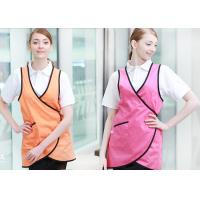 Quality Unisex Vest Custom Cooking Aprons Printing Logo For Coffee Shop Cooking for sale