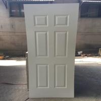 Buy cheap 3mm White Primer Finish Faced MDF Door Skin Design With 2150*900mm Size product