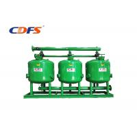 Buy cheap DP / Time Control Irrigation Sand Filter 30 - 400 M³ / H Flow Rate Automatic product