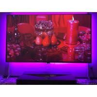 China Edgeless Fixed Frame Screen , Fixed Wall Projector Screen HDTV 16/9 Format 0.8 Gain on sale