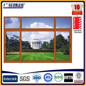Buy cheap Australia style hand swing glass aluminium windows product