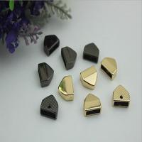 Buy cheap Wholesale Bulk Price Zinc Alloy Gold Bag End Belt End Metal Clips product