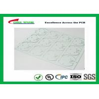 Buy cheap Aluminum material MCPCB Thickness 1.6mm White Solder Mask UL /ROHS product
