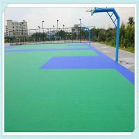 China PP interlocking sports flooring basketball courts used floor on sale