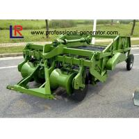 Three Point Hitch Connection Gear Drive Potato Harvester with 2 Working Rows Hoe