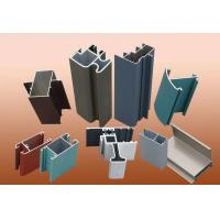 Buy cheap T5 T6 Aluminium Construction Profiles / Standard Aluminium Extrusion Profiles from wholesalers
