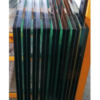 Buy cheap EVA Decorative Laminated Glass Panels , Toughened Laminated Safety Glass product