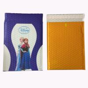 Buy cheap Foil Metallic Self Seal Bubble Envelopes Black Matte Aluminized Bubble Mailers Bags product