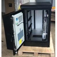 Buy cheap Single Wall Heat Insulated Galvanized Steel Outdoor Telecom Cabinet With Air from wholesalers