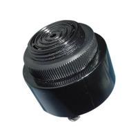 China Panel Mounted Piezo Alarm Buzzer With Big Sound Speaker , Black wholesale