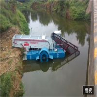 Buy cheap 1500m3 Aquatic Water Weed Harvester With Storage Tipper product