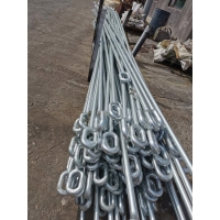 Buy cheap Q235 Material Steel Forging Parts Eye Bolt Self Color Surface product