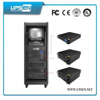 Buy cheap Modular Rack Mount UPS Uninterrupted Power Supply with Pure Sine Wave , Low Noise product