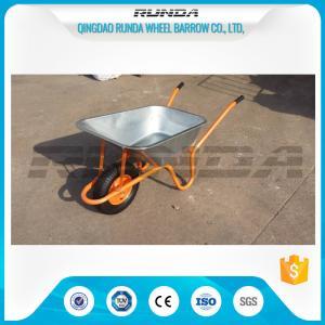 Buy cheap 4.5CBF Heavy Duty Wheelbarrow Wb6414K, 85L Capacity Yard Garden CartVarious Size product