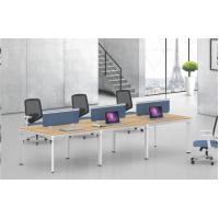 Buy cheap Modular design  30x80mm steel tube 6  person staff workstation desk office furniture product