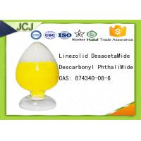 Buy cheap CAS 874340-08-6 Pharmaceutical Raw Materials Linezolid DesacetaMide Descarbonyl PhthaliMide product