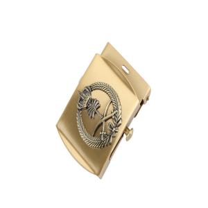 Buy cheap 3D Engraving Stamping 30MM Military Western Belt Buckles For Men product