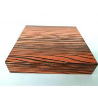 Buy cheap Color Diversity Wood Grain Wardrobe Aluminium Profile Surface Smooth product