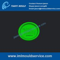 Buy cheap 1000g thin wall plastic cup lids mould,4 cavities thin wall injection box and lids mould product