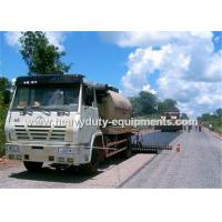 Buy cheap 8000L Road Construction Equipment Asphalt Distributor Truck With Two Diesel Bummer Heating System product