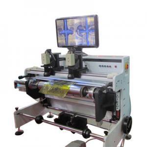 Flexo printing cylinder plate mounting machine