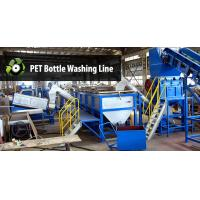 Buy cheap Large Plastic Washing Machine , Pet Bottle Washing Line With 1 Year Warranty product