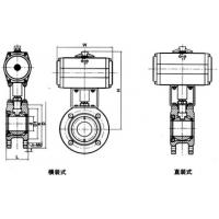 Buy cheap Pneumatic double-layered ball valve product