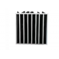 Buy cheap Multi Pocket Activated Carbon Air Filter Bag Structure For Air Filtration product