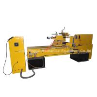Buy cheap CNC Wood Turning Broaching Engraving Machine with Single Axis Double Blades product
