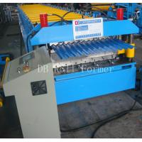 5.5kw Corrugated Steel Panels Roll Forming Machine for Wall Board Production