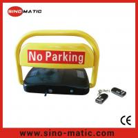 China Automatic Solar Power Remote Control Car Parking Barrier Lock on sale